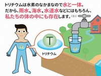 The tritium design after correction is seen in this image taken from the Reconstruction Agency's website. (Mainichi)