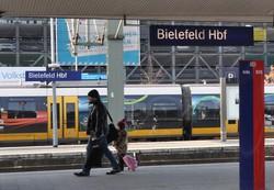 「本当は存在しない」。そんな都市伝説があるドイツ西部ビーレフェルトの中央駅=2013年2月、篠田航一撮影