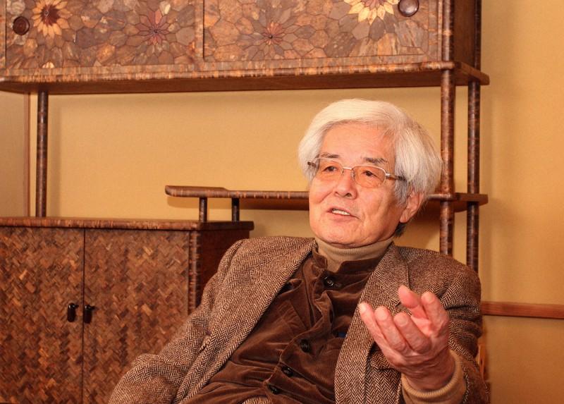 解剖学者の養老孟司さん=東京都新宿区で2018年1月22日、中村琢磨撮影