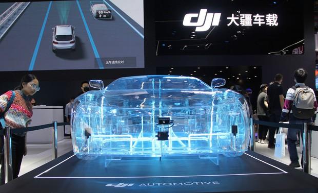 ドローン世界大手のDJIが立ち上げた自動運転技術の新ブランド「大疆車載」