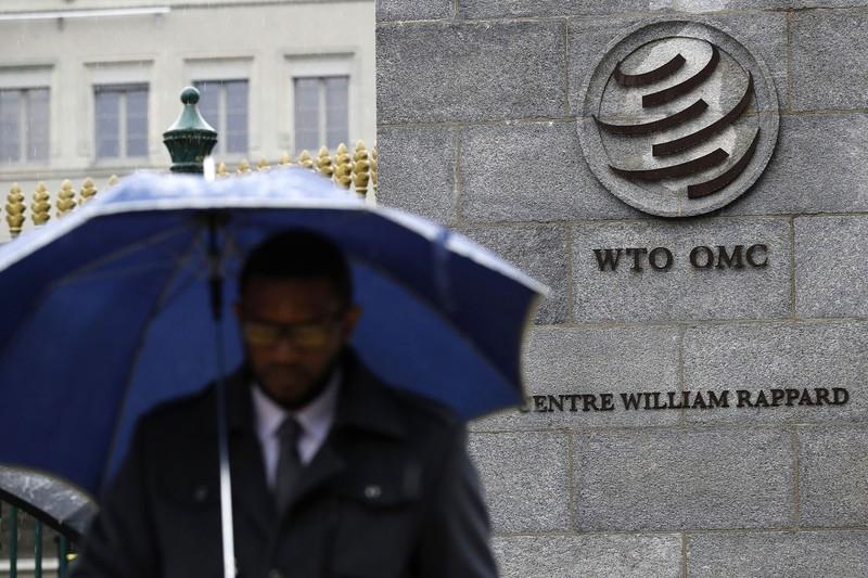 WTOは機能不全の中…… (Bloomberg)