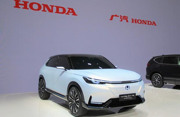ホンダは中国初となるホンダブランドのEVのプロトタイプモデルを披露(2021年4月の上海モーターショー)
