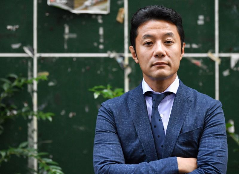 入山章栄・早大大学院教授=東京都新宿区で西夏生撮影