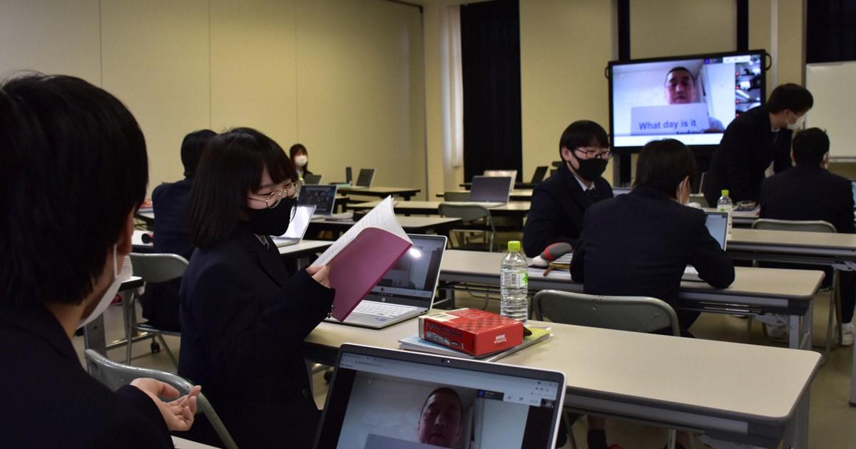 先生は自宅で生徒が教室 逆オンラインの新たな取り組み 福井