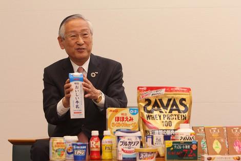 コロナ禍でも増益、国産ワクチンを開発 川村和夫 明治ホールディングス社長