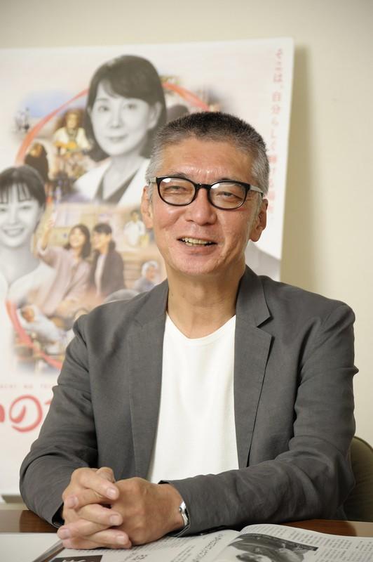 「今の若い人たちの中には、日本が米国と戦争したことしか知らない人が結構いる。戦争ものを作ってみたい」 撮影=蘆田剛