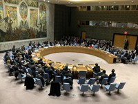 The United Nations Security Council meets on Dec. 11, 2019. (Mainichi/Toshiyuki Sumi)