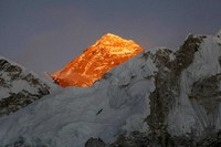 In this Nov. 12, 2015 file photo, Mt. Everest is seen from the way to Kalapatthar in Nepal. (AP Photo/Tashi Sherpa)