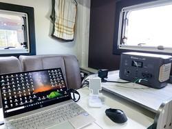 コロナ禍の影響でワーケーション用途の使い方も増えてきた 筆者撮影