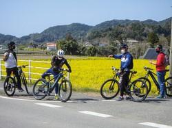 電動アシストのついたスポーツ自転車が人気