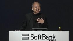 ソフトバンクグループの決算発表で笑顔を見せる孫正義会長兼社長=2021年5月12日、同社のオンライン発表会から