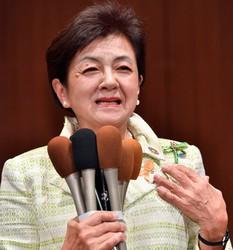 This file photo shows House of Councillors member Yukiko Kada. (Mainichi/Yusuke Komatsu)