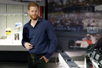 In this March 6, 2020, file photo, Britain's Prince Harry visits the Silverstone Circuit, in Towcester, England. (Peter Nicholls/Pool Photo via AP)
