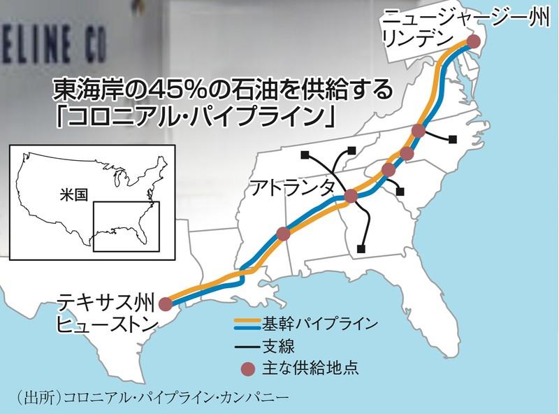 米東海岸の45%の石油を支えるパイプライン