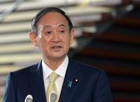 Japanese Prime Minister Yoshihide Suga  (Mainichi Kan Takeuchi)