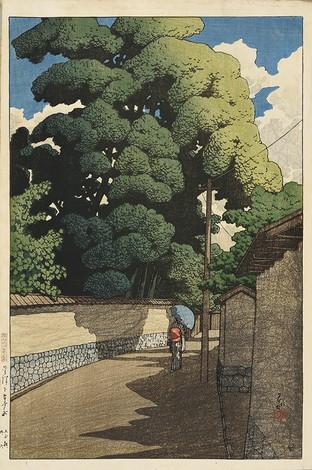 ≪旅みやげ第二集 金沢下本多町≫ 1921年 36.4×24.1cm 荒井寿一コレクション