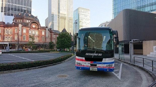 東急が新サービス実験「DENTO」の一環として運行した高速バス=東急提供