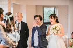 結婚10周年のセレモニーが、途中で金婚式に切り替わり……(フォトワ提供)