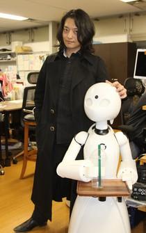 Kentaro Yoshifuji, co-founder and CEO of Ory Laboratories Inc., is seen in Minato Ward, Tokyo, on April 8, 2021. (Mainichi/Yuka Obuno)
