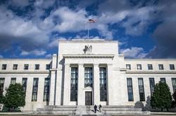 金融政策が注目の的(ワシントンDCのFRB本部) (Bloomberg)