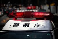 A Metropolitan Police Department patrol car. (Mainichi)