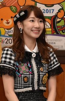 Yuki Kashiwagi is seen at the Ehime Prefectural Government office on Jan. 23, 2017. (Mainichi/Akiho Narimatsu)