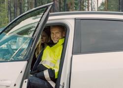 世界初のファブレス電池ベンチャー、スウェーデンのノースボルトは車載電池のリサイクルにも注力する。ピーター・カールソン最高経営責任者(Bloomberg)
