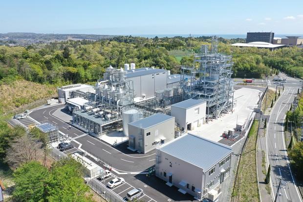 豊通リチウム(豪オロコブレとの合弁)の水酸化リチウム製造工場 豊田通商提供