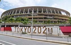 メイン会場となる国立競技場(東京都新宿区)