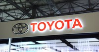 This Oct. 23, 2019 file photo shows the logo of Toyota Motor Corp. (Mainichi)