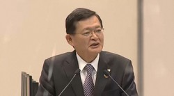 3月開催の東芝臨時株主総会で議長を務めた車谷暢昭氏=2021年3月18日、東芝ホームページから