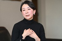 In this Jan. 22, 2021 file photo, Shiori Yamao of the Democratic Party for the People is seen in Tokyo's Chiyoda Ward. (Mainichi/Toshiki Miyama)