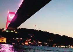 ボスラス海峡から西に約20キロ、黒海とマルマラ海をつなぐ運河となる 筆者撮影