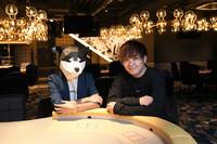 Pro poker players and YouTubers Masato Yokosawa, right, and Hiroki Nawa are seen at their recreational poker room business Roots Shibuya, in Tokyo's Shibuya Ward, on June 3, 2021. (Mainichi/Kaho Kitayama)