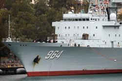 中国は海軍力を急速に拡充 (Bloomberg)