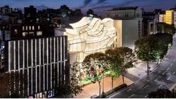若者にも人気のソウルにあるルイ・ヴィトンメゾン ソウルの外観 ルイ・ヴィトンコリア提供