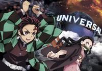 "Image depicting the collaboration between Universal Studios Japan and the popular Japanese manga and animation series ""Demon Slayer"" (Kimetsu no Yaiba). (Copyright Koyoharu Gotoge/Shueisha, Aniplex, ufotable/Photo courtesy of Universal Studios Japan/Kyodo)"