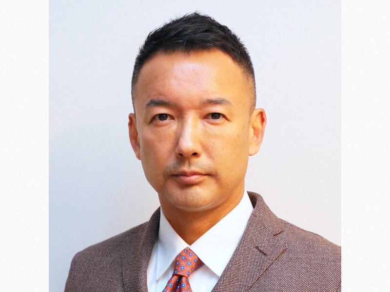 れいわ新選組の山本太郎代表