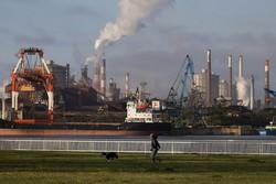 日本製鉄の東日本製鉄所鹿島地区(茨城県)。日鉄は2025年3月をめどに高炉1基の休止を決めた (Bloomberg)