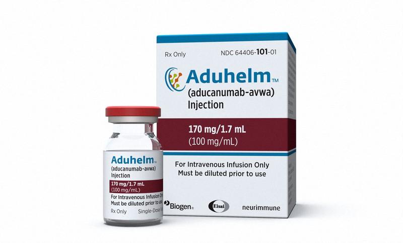 米国で仮承認されたアデュカヌマブ=米バイオジェン提供