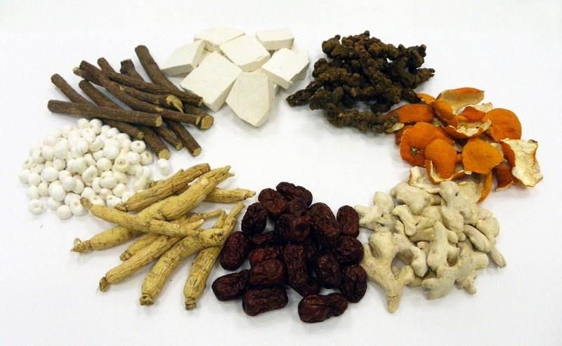 漢方薬の原料となる生薬。植物の根や皮、種子などを利用する=ツムラ提供