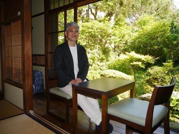 鎌倉投信の日本庭園からは鴬の鳴き声が聞こえてくる