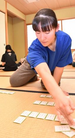 Mahiro Hayashi is seen in this photo. (Mainichi/Chinatsu Ide)