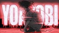 An anime-style official image for music duo YOASOBI. (Image courtesy of Sony Music Marketing United Inc.)