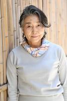 Yukiko Takahashi, sixth-generation head of Edo woodblock print shop Takahashi Kobo, is seen in Tokyo's Bunkyo Ward on June 10, 2020. (Mainichi/Emi Naito)