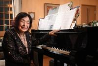 Japanese Pianist Mayako Muroi is seen in Tokyo's Setagaya Ward on May 19, 2021. (Mainichi/Natsuki Nishi)