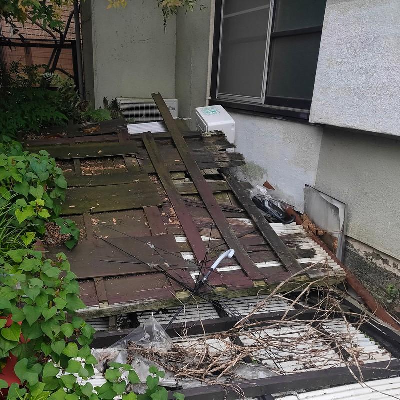 空き家を取り壊し、除去すれば申請の余地も