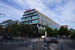 水ビジネス世界トップのヴェオリアの本社(パリ) (Bloomberg)