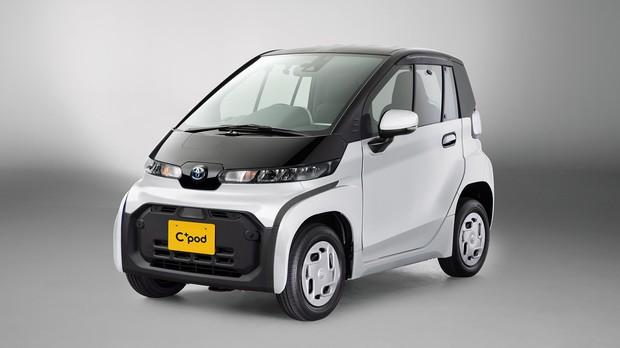 トヨタも小型EVに参入。昨年12月に発売を開始したシーポッド トヨタ自動車提供