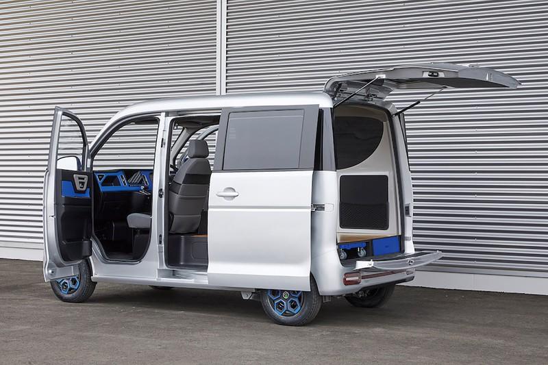中国の五菱が製造する小型商用EVバン ASF提供